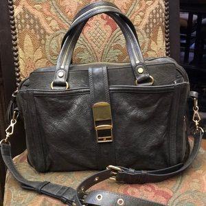 Rebecca Minkoff charcoal leather bag